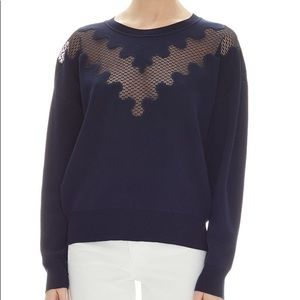 Sandro lace sweater